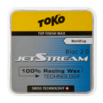 Ускоритель TOKO JetStream top-finish WAX BLOC 2.0 blue  -30 -8C