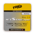 Ускоритель TOKO JetStream top-finish WAX BLOC 2.0 yellow  -4 -0C