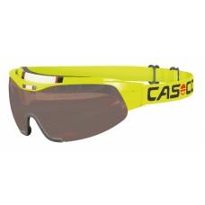Очки-маска Casco Spirit Neon Yellow Smoke lens